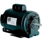 WEG Farm Duty Motor, .3318ES1BRBPFC48, 0.33 HP, 1800 RPM, 115/208-230 Volts, TEAO, 1 PH