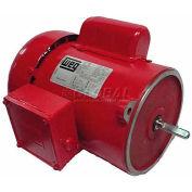 WEG Farm Duty Motor, .3318ES1RADB56N, 0.33 HP, 1800 RPM, 115/230 Volts, TEFC, 1 PH