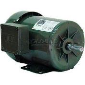 WEG Fractional 3 Phase Motor, .5018ES3EB56CFL, 0.5HP, 1800RPM, 208-230/460V, B56C, TEFC