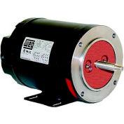 WEG Jet Pump Motor, .7536OS3EJPR56J, 0.75 HP, 3600 RPM, 208-230/460 Volts, ODP, 3 PH