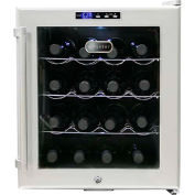 Whynter SNO WC-16S - Wine Cooler, Platinum With Lock, Holds 16 Bottles