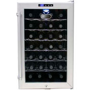 Whynter SNO WC-28S - Wine Cooler Platinum With Lock, Holds 28 Bottles