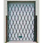Single Folding Security Gate 7-1/2'W x 6-1/2'H In Use