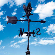 "24"" Eagle Accent Weathervane, Black"