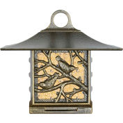 Nuthatch Suet Bird Feeder, French Bronze