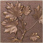 Maple Leaf Wall Décor, Antique Copper