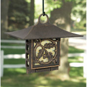 Oak Leaf Suet Bird Feeder, Oil-Rubbed Bronze