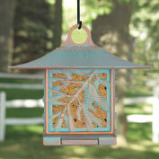 Pinecone Suet Bird Feeder, Copper Verdigris