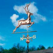 Copper Deer Weathervane, Polished