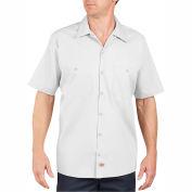 Dickies® Men's Short Sleeve Industrial Work Shirt, 5X White - LS535WH