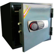 "Wilson Safe Fire Safe 119EN Electronic Lock - 16-1/2""W x 16""D x 14-1/4""H, Gray"