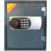 "Wilson Safe Fire Safe 125EN Electronic Lock - 19""W x 13-1/2""D x 15-1/2""H, Gray"
