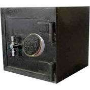 "Wilson Safe B Rate Safe B1212SR Electronic Lock - 15""W x 12-1/2""D x 12-1/2""H, Gray"