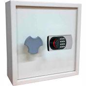 "Wilson Safe Heavy Duty Key Safe Cabinet KC-100 Electronic Lock - 9-1/2""W x 17""D x 22""H, Gray"