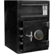 "Wilson Safe Depository Safe MB2014SR Electronic Lock - 16-1/2""W x 14""D x 20""H, Black"