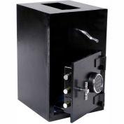"Wilson Safe Depository Safe RH2715SR Electronic Lock - 19-1/2""W x 15""D x 27""H, Black"