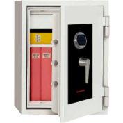 "Wilson Safe Burglar and Fire Safe SS070 Electronic Lock - 22-3/16""W x 19-11/16""D x 25""H, Gray"