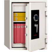 "Wilson Safe Burglar and Fire Safe SS080 Electronic Lock - 23""W x 20-1/2""D x 32-1/8""H, Gray"