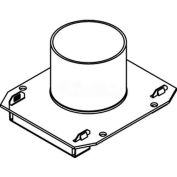 "Wiremold 22cha Poke-Thru 2-Gang Conduit Housing Assembly, 2"" - Pkg Qty 2"