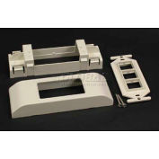"""Wiremold 2407-3tjfw 106 Device Bkt And Frame, 6""""L - Pkg Qty 5"""