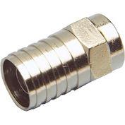 Legrand® 363140-03 Coax F Plug - RG6 Quad Shield, Hex Crimp
