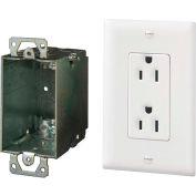 Legrand® 364569-02-V1 Surge Protected Duplex Outlet Kit
