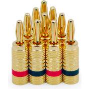 Legrand® 364827-V5 Gold Banana Plugs