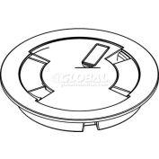 "Wiremold 6CTNK Poke-Thru Cover Assembly, Flush, 6"", Nickel"