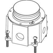 Wiremold 800cilck Floor Box 800 Series Cast-Iron Floor Box, Conduit Openings - Pkg Qty 4