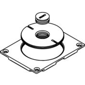 """Wiremold 829ck-1/2 Floor Box Communication Cover, 2-5/8"""" & 1/2"""" Plugs, Brass - Pkg Qty 10"""