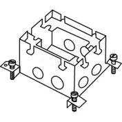 Wiremold 880S1 Floor Box 1-Gang Deep Box, Fully Adjustable