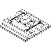 Wiremold 880S1FC Floor Box 1-Gang Deep Floor Box, Fire Classified, Flush