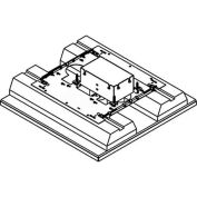 Wiremold 8802S-FC Floor Box 2-Gang Floor Box, Fire Classified, Flush