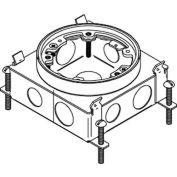 Wiremold 886b Floor Box Steel Ko Configuration, 2 Sides - Pkg Qty 4
