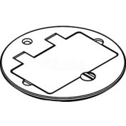 Wiremold 895tgfi Floor Box Gfi Receptacle Cover, Brass, For Tile - Pkg Qty 8