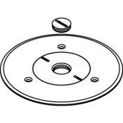 Wiremold 896ckal-1/2 Floor Box Carpet Screw Plug, Aluminum Cover - Pkg Qty 8