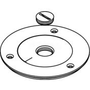 """Wiremold 896tck-1/2 Floor Box Cover Plate, Brass, For Tile W/1/2"""" Opening - Pkg Qty 8"""
