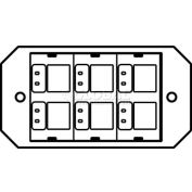 Wiremold 8act6a Poke-Thru 1-Gang 6a Activate Plate - Pkg Qty 5