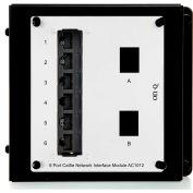 Legrand® AC1012 6-Port Cat 5e Network Interface Module