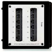 Legrand® AC1015 12-Port Cat 6 Network Interface Module