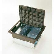 Wiremold AC8105 Floor Box AC Raised Floorbox