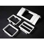 """Wiremold Alds4047mab Single Channel Mab Device Plate, 6""""L - Pkg Qty 10"""