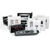 Legrand® AU5644-WH lyriQ High Performance Multi-Source, 4-Zone Kit in Studio Design