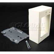 """Wiremold BK2048 Switch & Receptacle Box, 125V, 15A, 4-7/8""""L"""