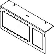 Wiremold C10105P-AAP-6A Floor Box AC10105 Series Device Plates W/8 Aap Devices & 6 Ports