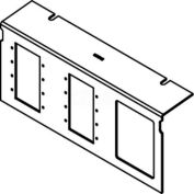 Wiremold C10105P-MAAP-6A Floor Box AC10105 Series W/8 Port For MAAP Devices & 6 Ports