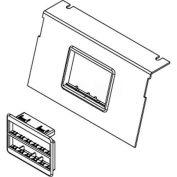 Wiremold C8850p-2rt Floor Box Ac8850 Plate W/(2) Ortronics & Lt Gray Bezels - Pkg Qty 10