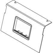 Wiremold C8850p-Act Floor Box Ac8850 Plate W/(1) 6a Mini Adapter Bezel - Pkg Qty 10