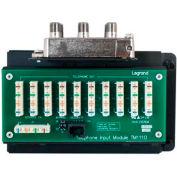 Legrand® CO1110 10x8 Combo Module IDC with RJ31X