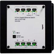 Legrand® DA1458 8-Port Gigabit Switch with PoE